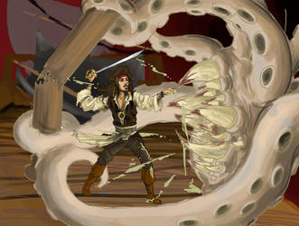 POTC dead mans chest ending by JACKIEthePIRATE