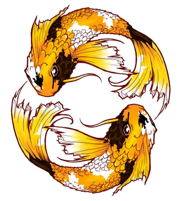 Image gallery koi fish pisces for Koi fish pisces