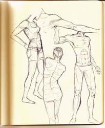 anatomy study by JACKIEthePIRATE