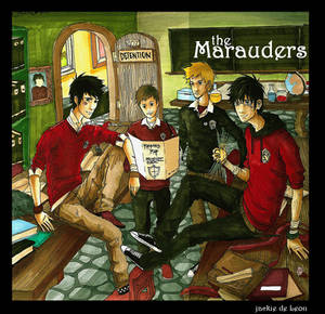 harry potter: Marauders