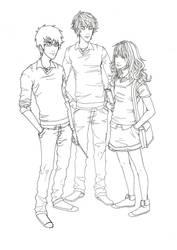 HP trio by JACKIEthePIRATE