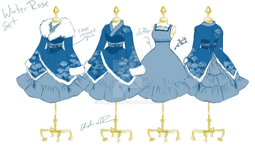 Steampunk fashion girl