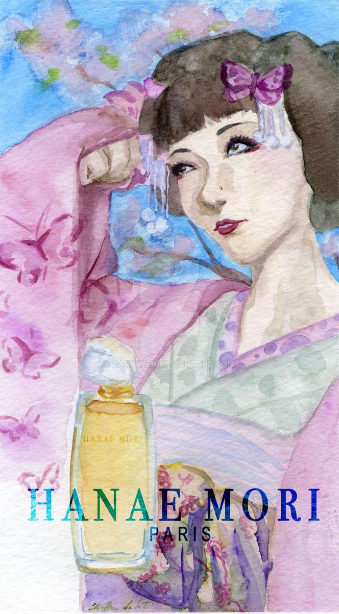 Faux Advertizing: Hanae Mori by Carigwen