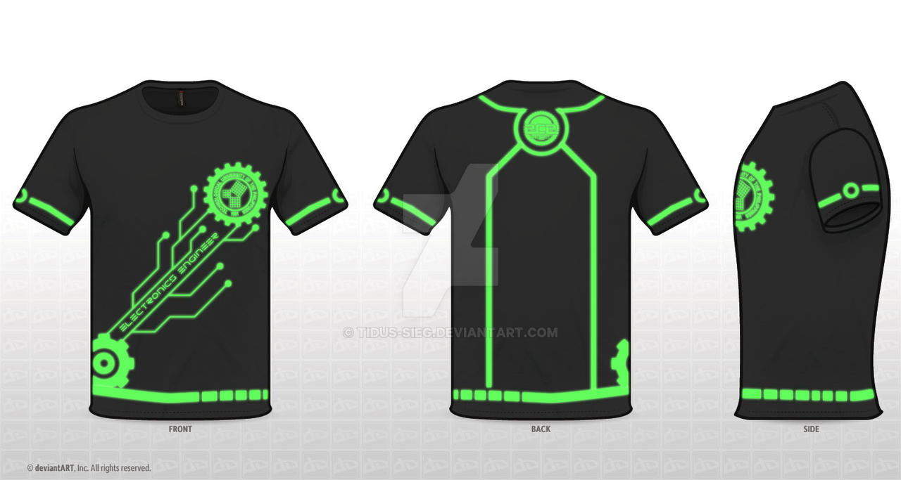 Electronics Engineer Shirt By Tidus Sieg On Deviantart