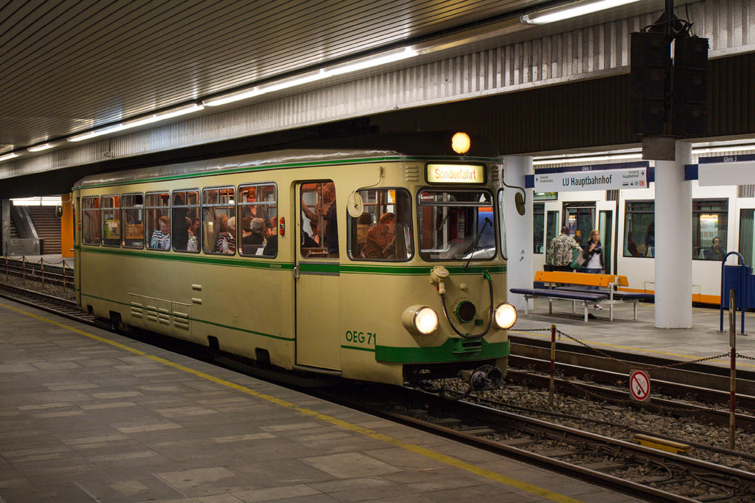 Ludwigshafen Underground by TramwayPhotography