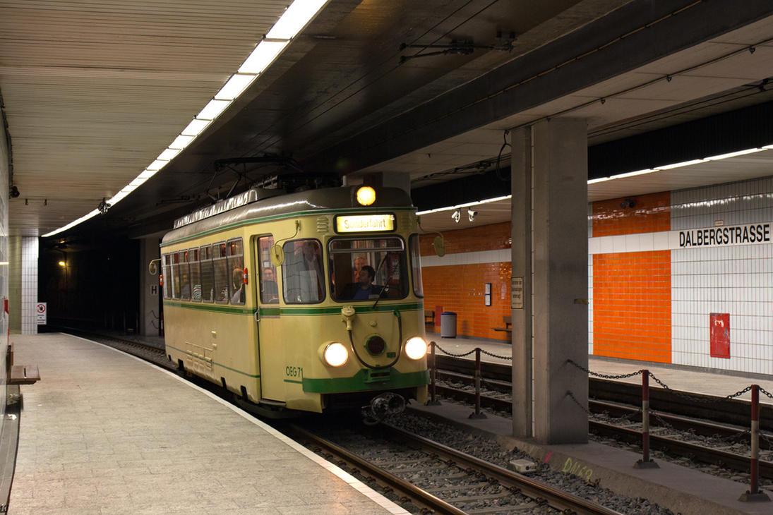 Mannheim Underground by TramwayPhotography
