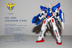 HG Gundam Exia Trans-Am Mode by Eresama
