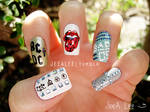 Rock Band Nails
