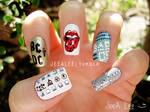 Rock Band Nails