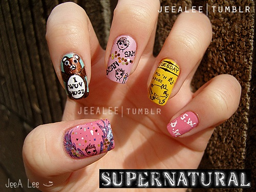 Supernatural Nails 2 | Favorite Episodes by jeealee