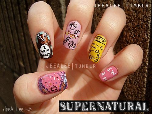 Supernatural Nails 2 | Favorite Episodes by jeealee