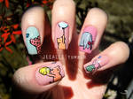 Classic Winnie The Pooh And Friends Nails