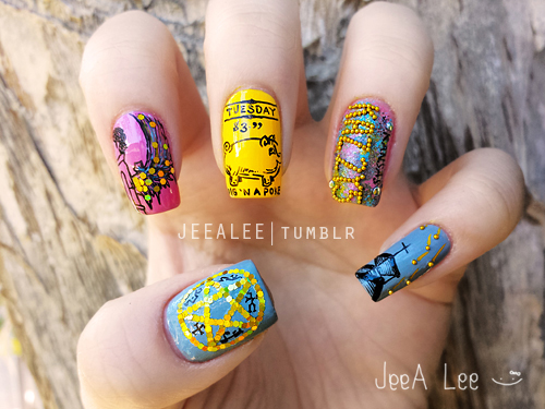Supernatural Nails | The Road So Far... by jeealee