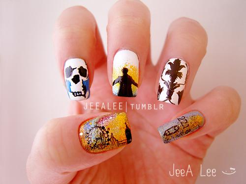 Sherlock Nails by jeealee