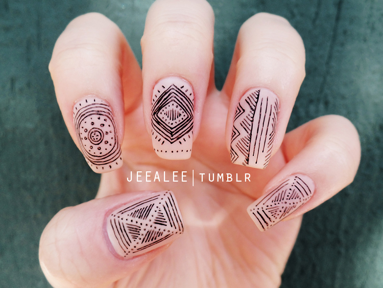 Matte Nails by jeealee