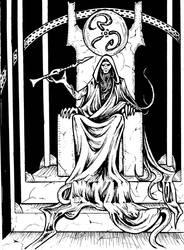 Tarot: Hiarophant by Sheralt