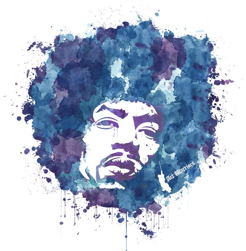 Jimi Hendrix T-Shirt by artwarriors
