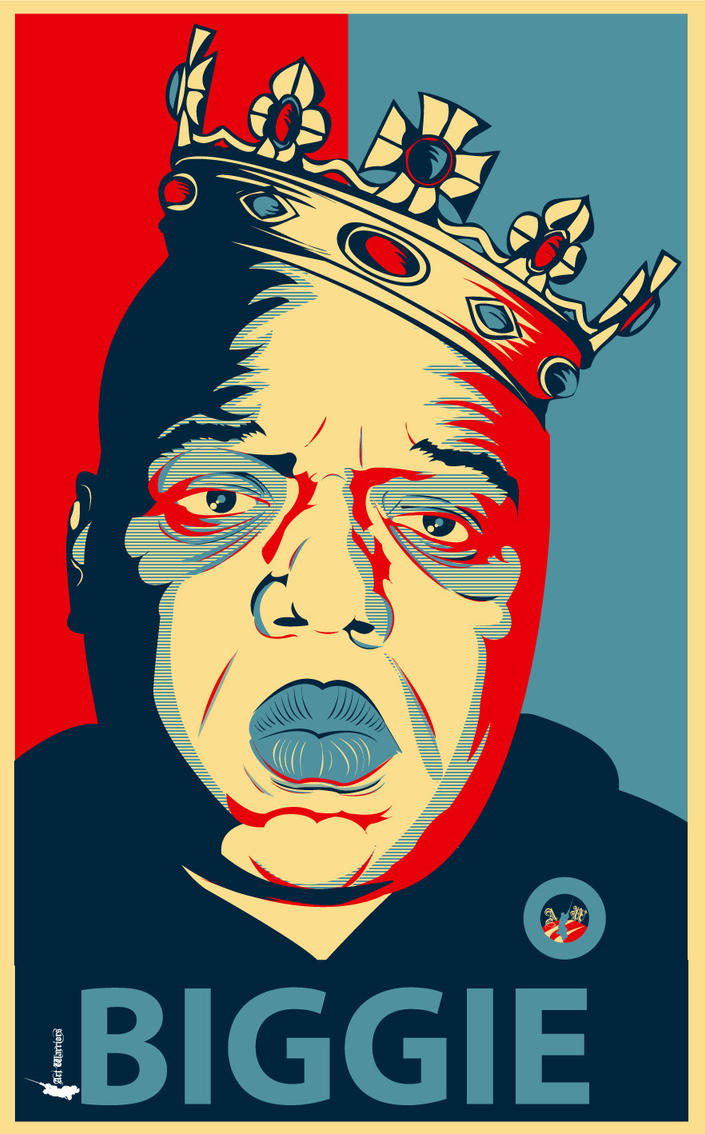 OBEY the B.I.G. by artwarriors