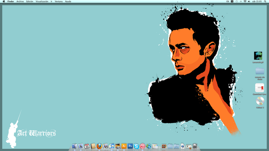 James Dean Wallpaper by artwarriors on DeviantArt