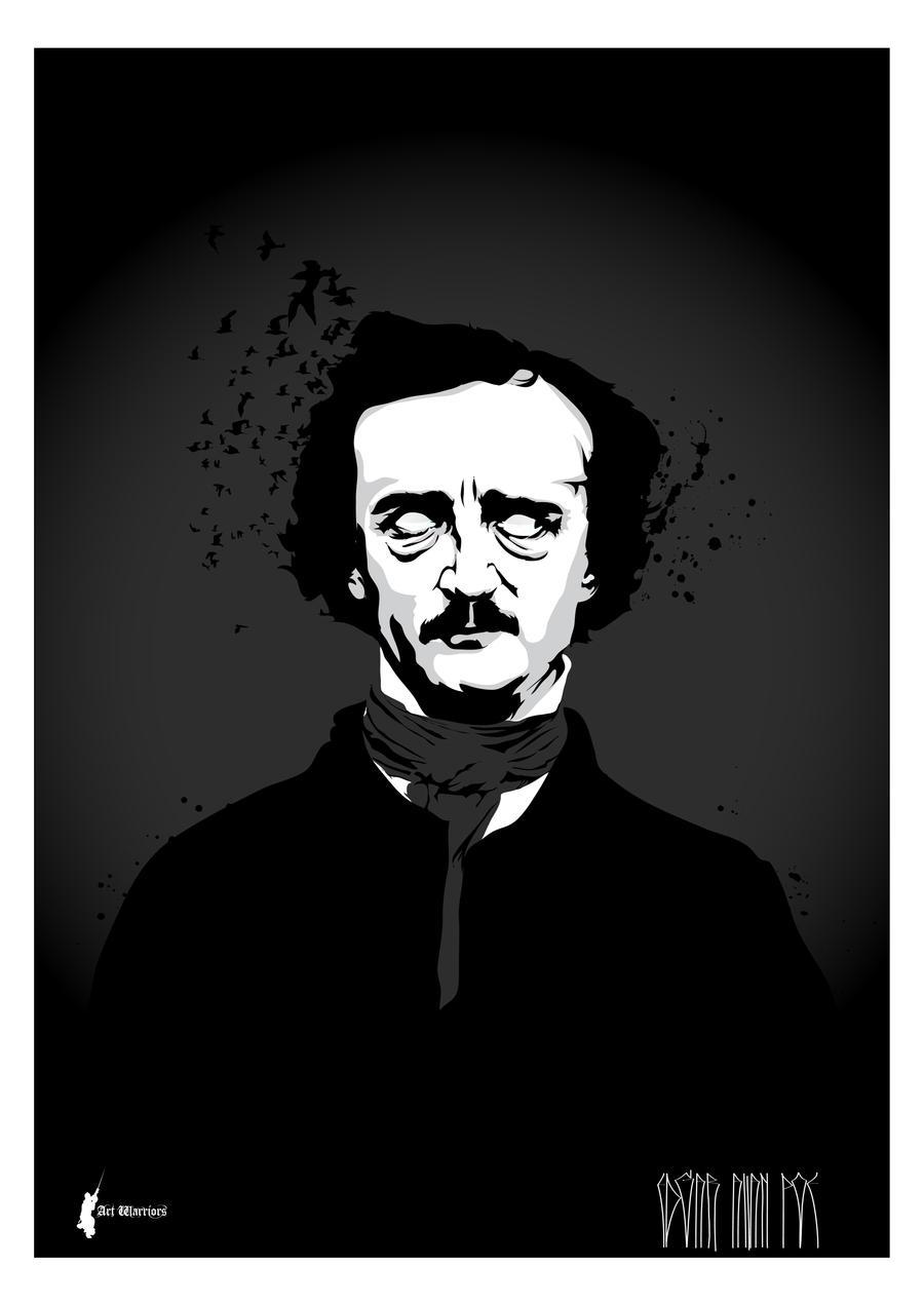 Edgar Allan Poe II by artwarriors