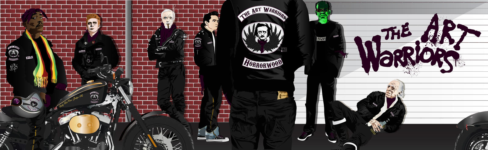 Art Warriors Motorcycle Club by artwarriors