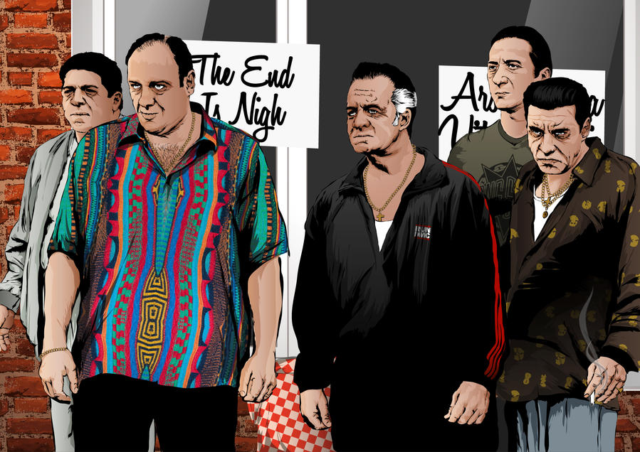 The Sopranos by artwarriors