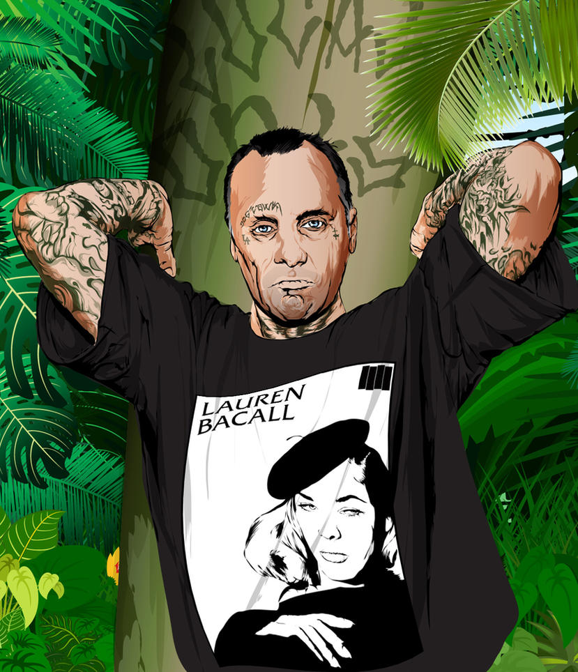 Jay Adams and Laruen Bacall Tribute by artwarriors