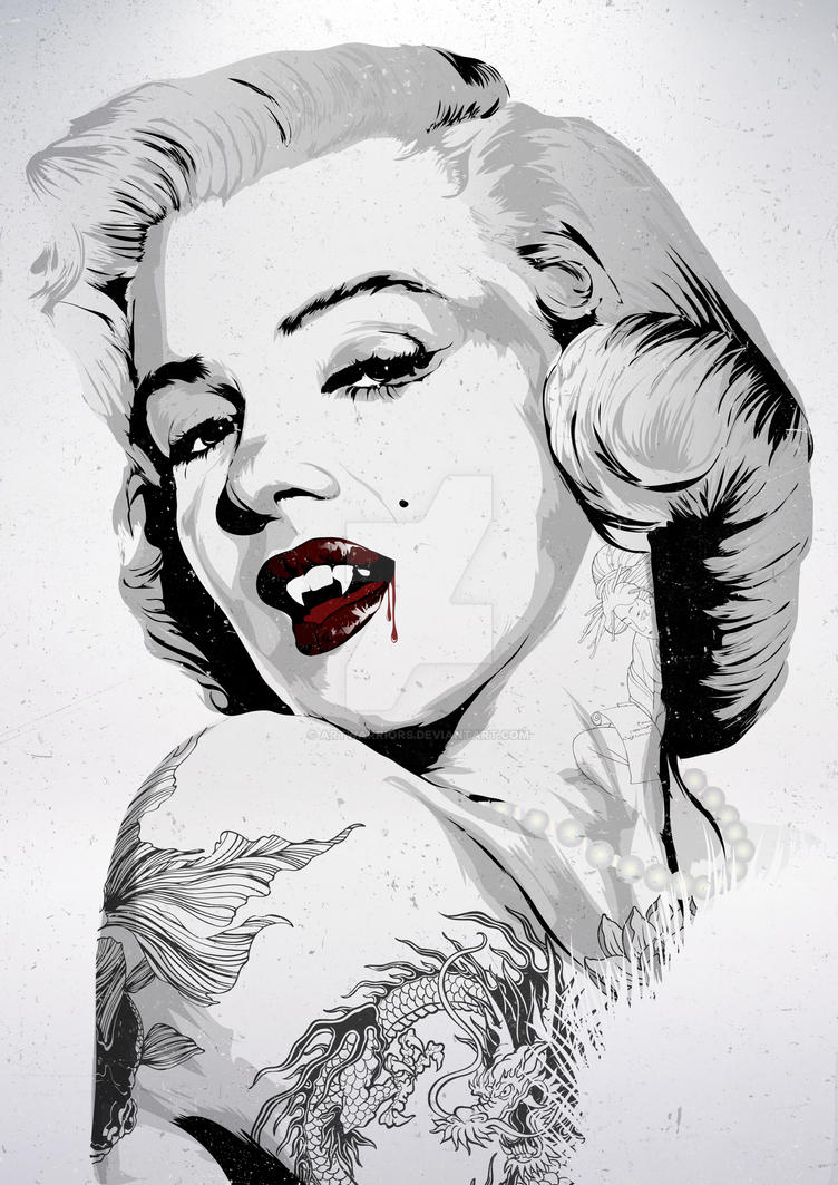 Marilyn Vamp by artwarriors