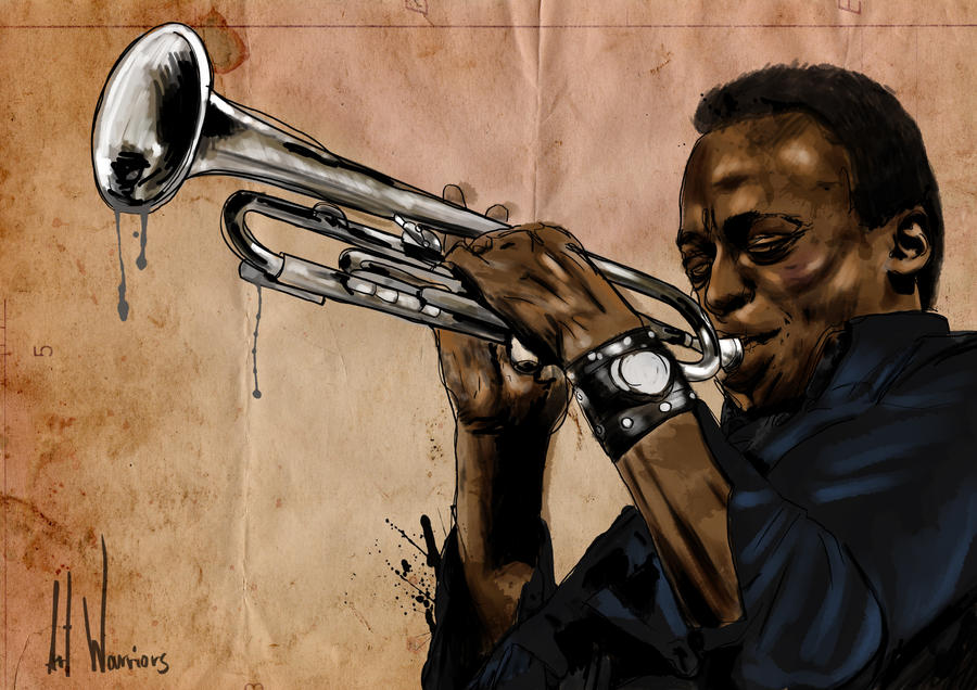 Miles Davis II by artwarriors