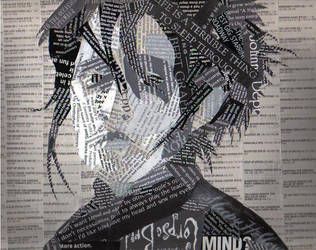 Edward Scissorhands Collage by Gaara0013