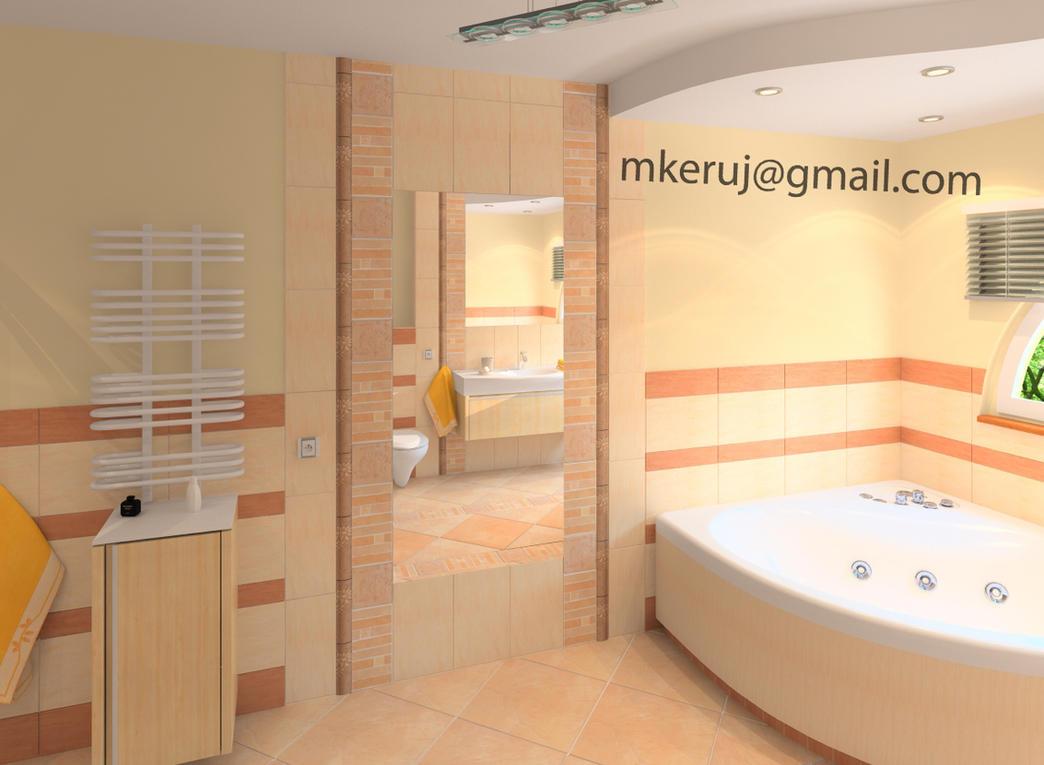 Bathroom 02 by mkeruj