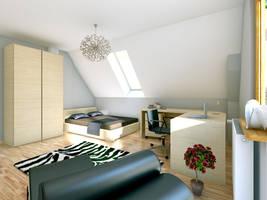 Room teenager 1 by mkeruj