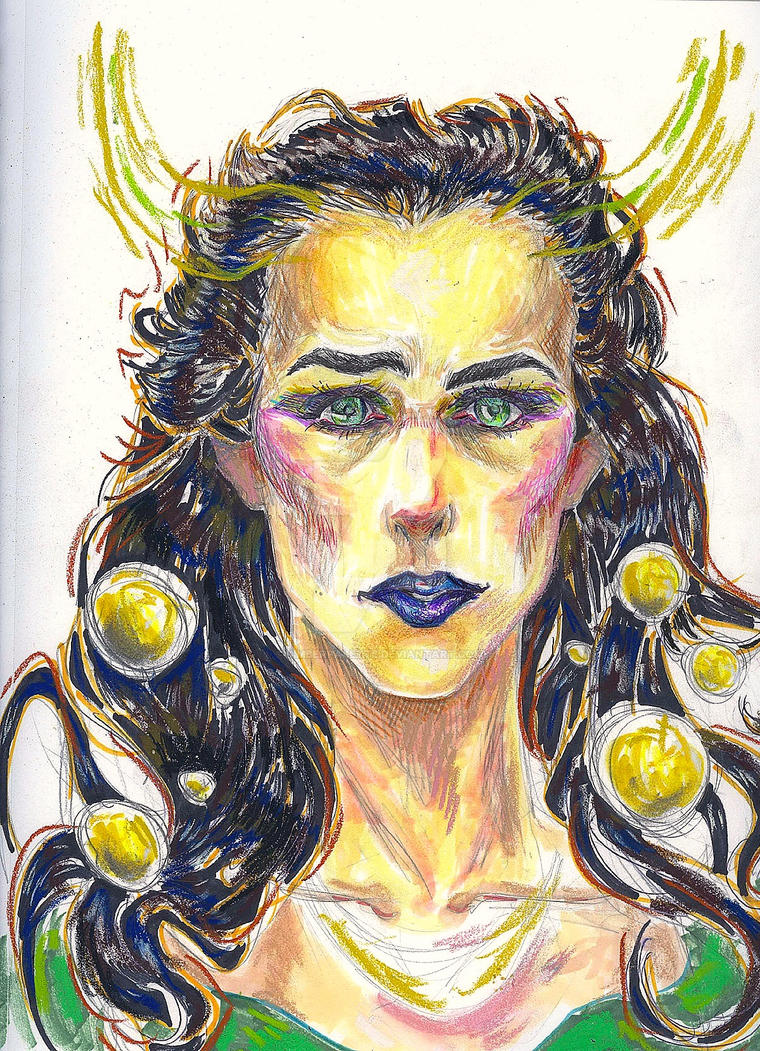 Lady Loki by AmberPalette
