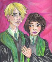6th year Draco and Pansy, HP