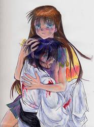 Furuba--RPG, Tohru and Akito by AmberPalette