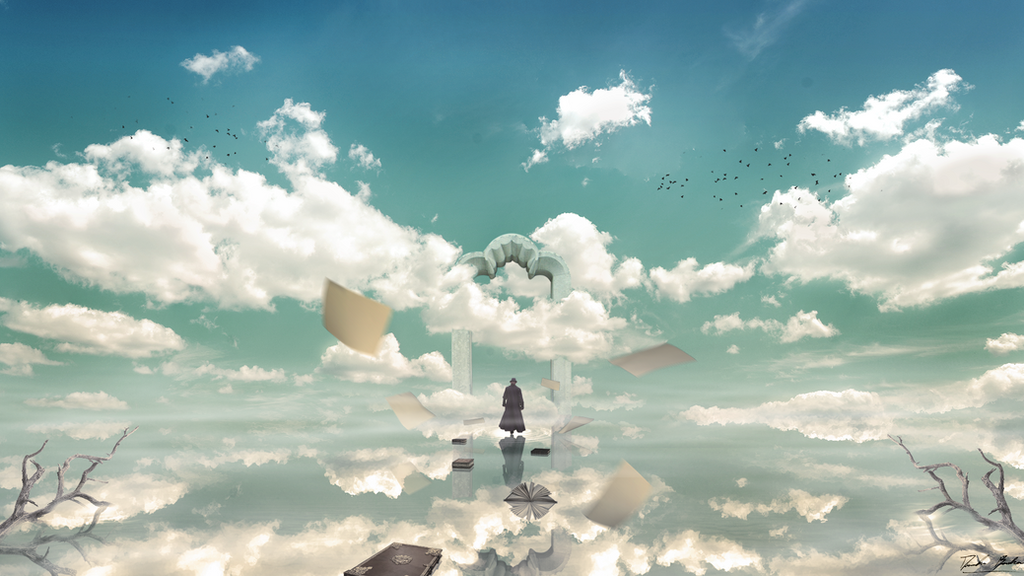 A Lost Writer by DanieleBianchin