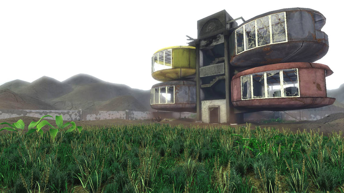 San Zhi, Taiwan, ufo homes_1 by stikwyrm