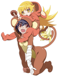 Shinobu  Kanbaru Suruga Monkey - Monogatari Series