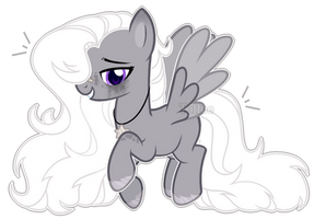 MLP OC|Melting Moon (Commision) by ToffeeLavender