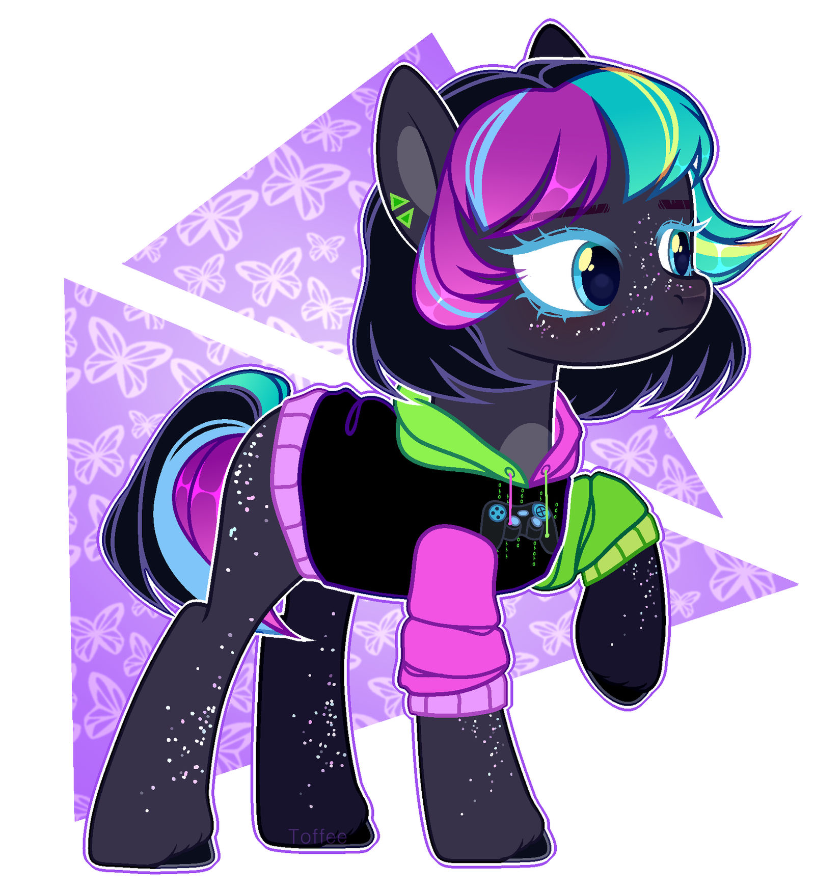mlp oc commission by toffeelavender on deviantart mlp oc commission by toffeelavender on