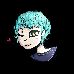 Mint Yoongi by BlackBloodWolf18