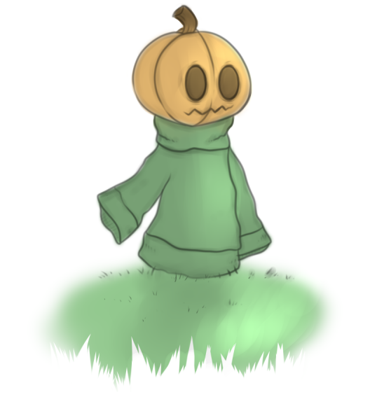 A Pumpkin Boi by BlackBloodWolf18