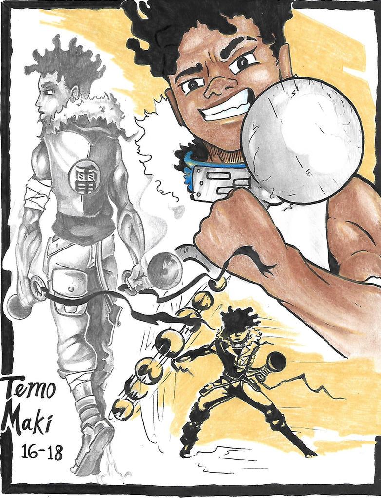 Naruto OC: Temo MaKi by Tmonink
