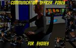 Communication Officer Poses for G2 Females