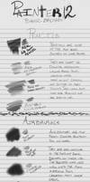 Corel Painter Basic Brushes Tutorial by Fearsome-Jabberwock