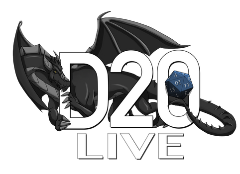 D20 Live Logo