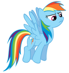 Rainbow Dash defies you.