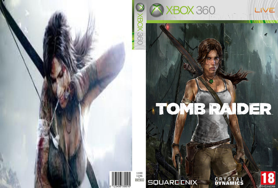tomb raider 2013 cover art