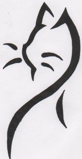 Cat Tattoo Design by xo-naynay-ox