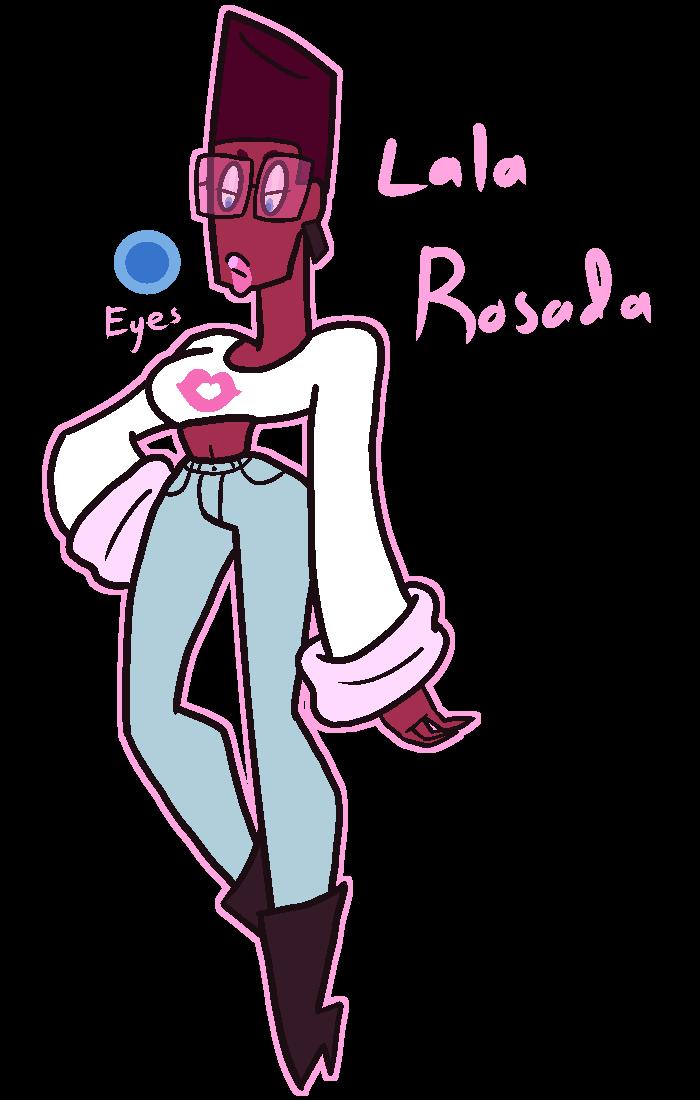 Lala Rosada by Cuppykins
